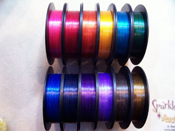 *NEW! Colored SUPER PACK Beading Thread 12 X 50 yds Pack