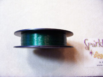 EVERGREEN COLORED Beading Thread 6lb 50 yd