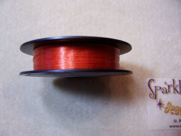 *NEW! PAPRIKA COLORED Beading Thread 6lb 50 yd
