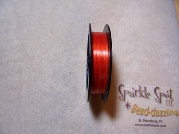 HYACINTH COLORED Beading Thread 6lb 50 yd