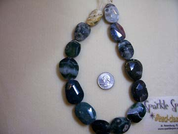 OCEAN ORBICULAR JASPER Faceted Focals