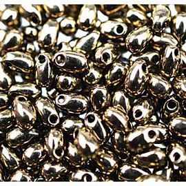 BRONZE DARK METALLIC Miyuki Long Drop Bead