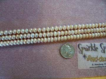 FW Pearl PINK BUTTONS 8mm