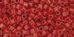 3mm PEPPER RED OPAQUE Toho Cube Square