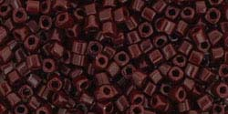 OXBLOOD OPAQUE Toho Cube Square 1.5mm