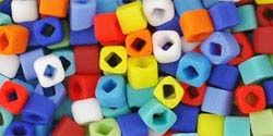 3mm COLOR MIX OPAQUE MATTE Toho Cube Square